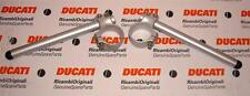 1999-on Ducati 750SS 900SS pair original alloy clip-on handlebars for 50mm forks