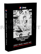 1974 Jeep Shop Manual CJ5 CJ6 Cherokee Wagoneer Truck J10 J20 Repair Service