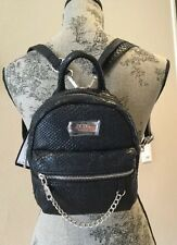 BCBG Paris Black Main ST Mini Backpack Bag NWT $125