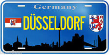 Dusseldorf Germany Aluminum Novelty Car Tag License Plate