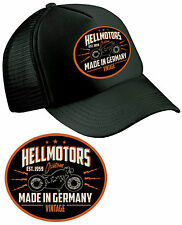 Germany Vintage Trucker Cap Hot Rod Shirt V8 Rockabilly Biker Old School Custom
