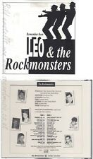 CD--LEO & THE ROCKMONSTERS--REMEMBER THEN