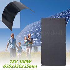 100W 18V Panel Solar Panel Paneles Solares Monocristalino Semi-flexibles Energía