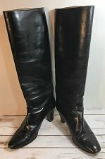 ANDREA CARRANO  Vintage  Fashion Leather Woman Boots Size 6.5 N  /36.5 EU