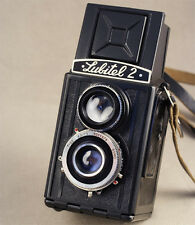 LOMO Lubitel-2 - Russian 6x6 medium format TLR camera. Export variant =1980=
