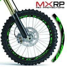 19 & 21 INCH DIRT BIKE MOTOCROSS RIM PROTECTORS WHEEL DECALS TAPE GRAPHICS
