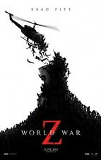 "WORLD WAR Z ""A"" 11x17 PROMO MOVIE POSTER"