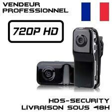 MINI DV CAMERA SPORT MD80 HD 720P DETECTION DE PRESENCE ESPION 1280x720 VTT MOTO