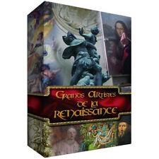 23207// GRANDS ARTISTES DE LA RENAISSANCE COFFRET 4 DVD NEUF