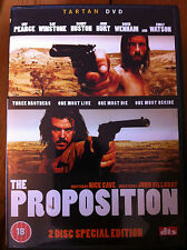 Guy Pearce Ray Winstone THE PROPOSITION ~ Nick Cave Western | UK 2-Disc DVD