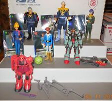 "2001 Bandai Mobile Suit Gundam 4"" Action Figure collection Lot of 8 HTF Rare"