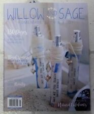 WILLOW And SAGE Homemade BATH & BODY FLORAL WATERS Natural Exfoliants 144 Pages