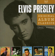 ELVIS PRESLEY Original 5CD NEW Elvis/E.P./Loving You/Elvis Is Back!/GI Blues