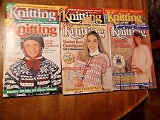 Lot Of 6 Knitting Digest  (Back Issues) Various Issues 1993-95