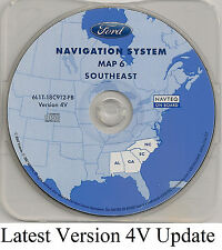 03 04 05 06 Ford Expedition Navigation CD Map #6 Cover AL GA SC Partial State NC