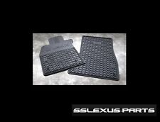 Lexus LS460 (2007-2012) (2WD / Short Wheel Base) 4pc ALL WEATHER FLOOR MATS OEM