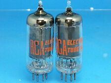RCA 6AU6 A VACUUM TUBE SUPER SWEET TONE  MATCHED PAIR SWEET TONE 04