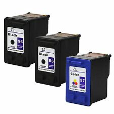 3PKs HP 56 56 57 Ink Cartridge For PSC 2410 2510 2210 2175 2110 1350 1315