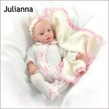 Reborn Doll 3 Peice Outfit For 12 inch Doll Juliana ~REBORN DOLL SUPPLIES