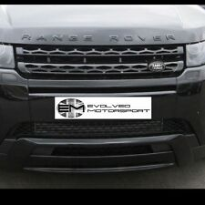 Range Rover Evoque Gloss BLACK Range Rover lettering upgrade kit FRONT+REAR E6