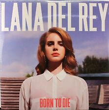 "Lana Del Rey Born to Die - Double 12"" VINYL LP RECORD Import Bonus Tracks SEALED"