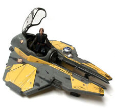 STAR WARS - ANAKIN SKYWALKER figure & JEDI FIGHTER ship vehicle