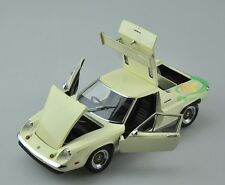 1 18 KYOSHO Model Lotus Europa Special with rear wing White Beige