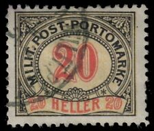 "BOSNIA J11 (Mi P11) - Numeral of Value ""Postage Due"" (pa71442)"