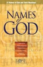 Names of God pamphlet: 21 Names of God and Their Meanings, Publishing, Rose, Goo