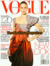 Spanish Vogue 1/08,Shannan Click,Lily Cole,January 2008,NEW