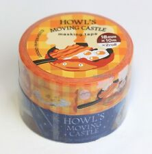 "New! Howl's Moving Castle ""Calcifer""Masking Tape Studio Ghibli"