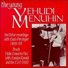 The Young Yehudi Menuhin: The Early Victor Recordings (CD, 2003, Biddulph)