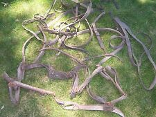 Draft Horse Leather Harness Antique Tack / Gear Hanes Old