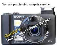 SONY DSC-HX9V CAMERA REPAIR SERVICE USING GENUINE SONY PARTS-60 DAY WARRANTY