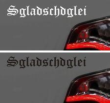 Autoaufkleber LKW Aufkleber MAN Sgladschdglei STICKER Ossi Sachsen Spruch FUN