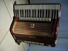 Weltmeister fisarmonica Schiffer pianoforte trascinamento Harmonika 120 bassi potenti