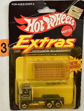 HOT WHEELS 1982 EXTRAS FORD STAKE BED TRUCK NO. 4018 BLUE