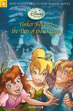 Disney Fairies Graphic Novel #3: Tinker Bell and the Day of the Dragon-ExLibrary
