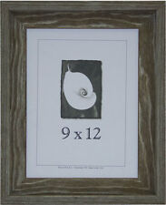 9x12 Appalacian Barnwood Picture Frame w/Real Glass