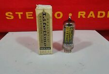 6BK5 NOS NIB Realistic Gold pin Vacuum Tubes ( More available  ) Tested
