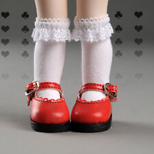 Dollmore 1/6 BJD YOSD Dear Doll Size - Lolo Cut Shoes (Red) LAST
