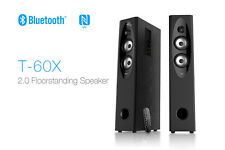 F&D T60X 2.0 Bluetooth Tower Woofer speaker with USB/SD/FM/REMOTE +1YW