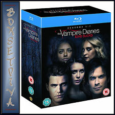 VAMPIRE DIARIES-COMPLETE SEASONS 1 2 3 4 5 6 & 7 *BRAND NEW BLURAY-REGION FREE**