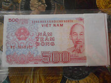 100 Notes Packet - VIETNAM - 1988 - 500 DONG - HO CHI MINH  GEM  UNC BANKNOTE