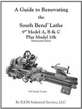 "A Guide to Renovating the South Bend Lathe 9"" Model A, B & C Plus Model 10k"