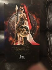 Athena BARBIE  GOLD LABEL 2010 Goddess Series R4492 NIB NRFB