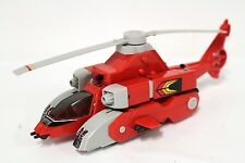 "Fire Rescue Helicopter Transformer Robot Transforming KO Action Figure 9"" [A29]"