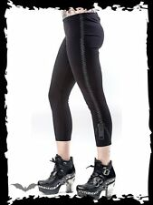 Queen of Darkness Capris Pants 3/4 Length Leggings Goth Punk Gothic