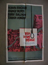 Man in the Middle Robert Mitchum, France Nuyen 1964 movie poster 27X40