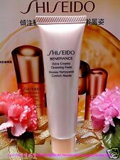 Shiseido Benefiance Extra Creamy Cleansing Foam ◆30ml◆ Newly!! **FREE POST**